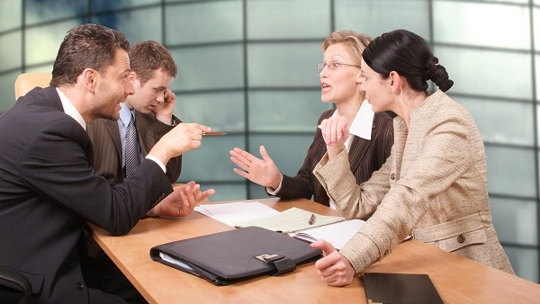 CFOs spend an average of 6 hours per week resolving employee conflicts. (Photo: Bigstock)