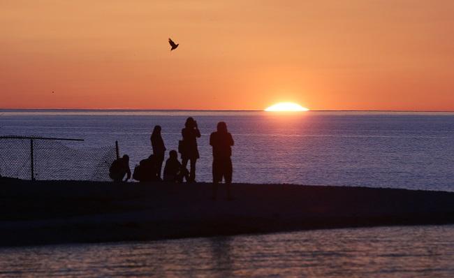 Benton Harbor, Michigan is on Lake Michigan. (Photo: AP)