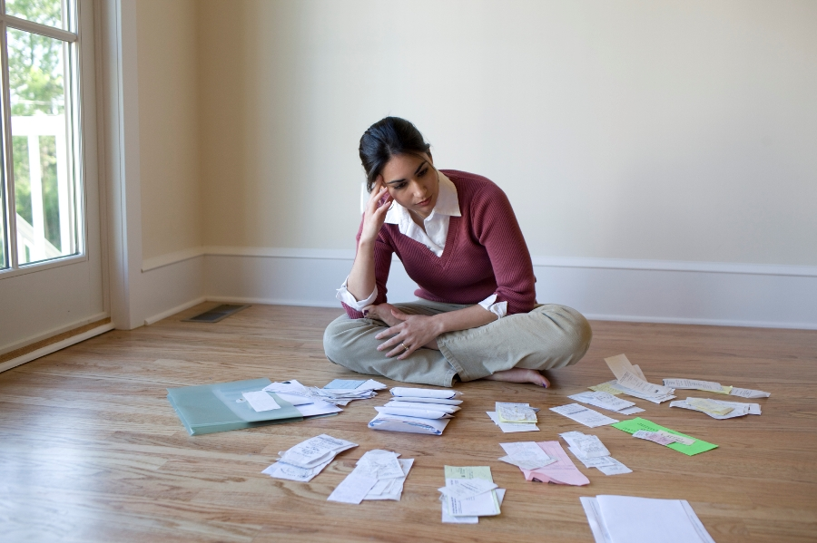 Debt levels are higher for women. (Photo: Getty)