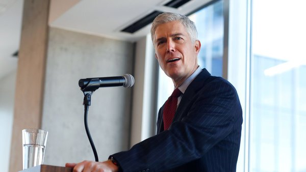 Gorsuch's confirmation hearing process starts this week. (Photo: AP)
