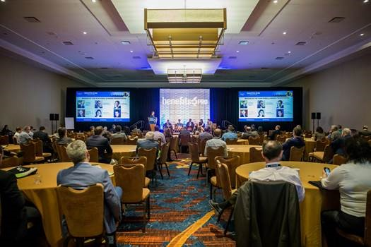Five Broker of the Year finalists presented a panel discussion on the challenges facing the benefits industry, at BenefitsPRO's Broker Expo.
