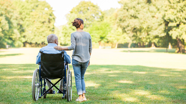 Nobody wants a loved one dying alone in an institution, but family caregivers who nurse relatives at home bear a physical, emotional, and financial burden. (Photo: iStock)
