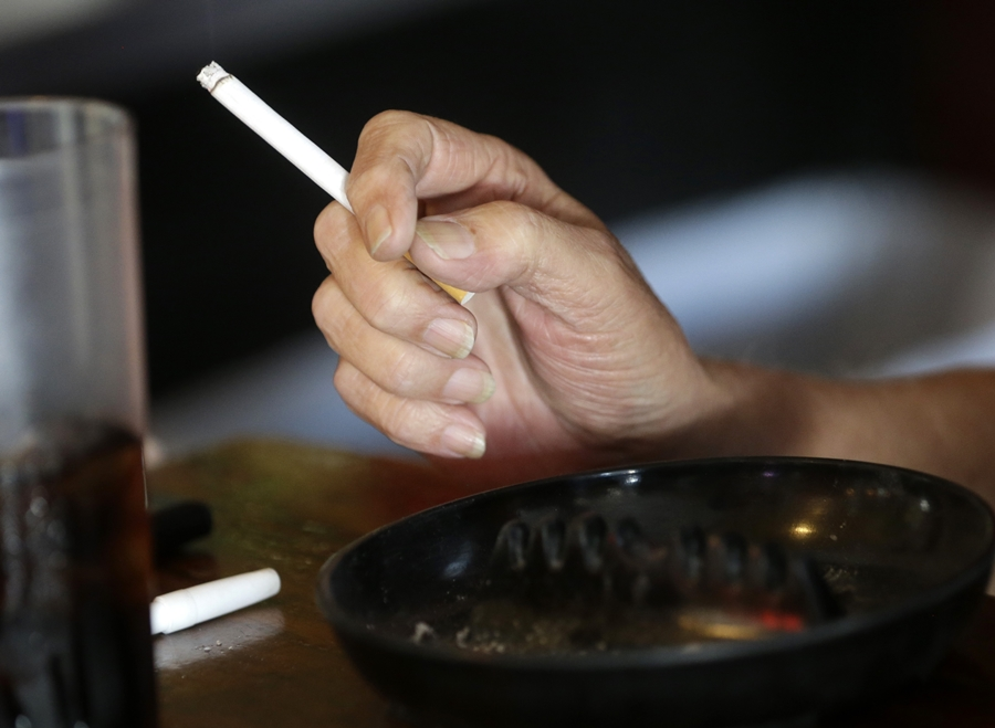 Millennial women, to their credit, are less likely to smoke. (Photo: AP)