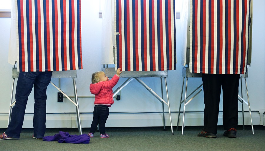 Name one millennial woman in politics -- we wish we could. (Photo: AP)