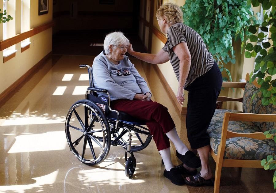 The good news is, women live longer than men; the bad news is, women live longer than men. (Photo: AP)