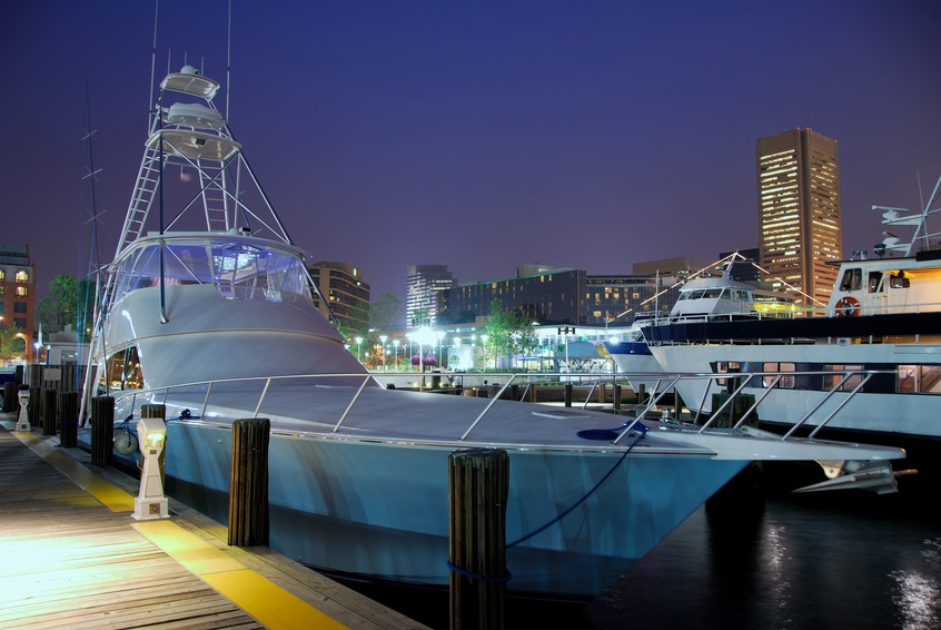 Yacht owners such as the owner of this Baltimore-Harbor-docked ship,would not be eligible for, nor would they think to enroll in, a state-sponsored retirement plan, not even one from Maryland. (Photo: Getty)