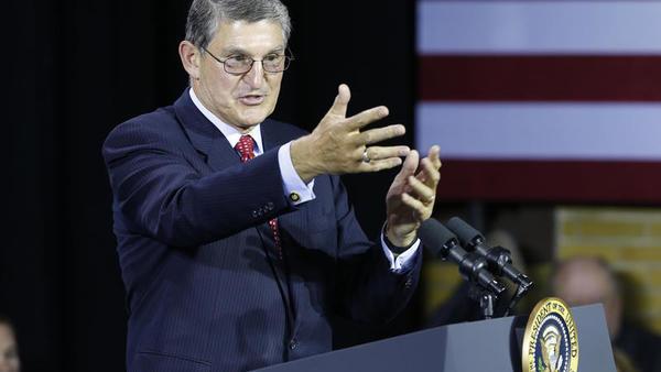 U.S. Senator Joe Manchin AP/Steve Helber