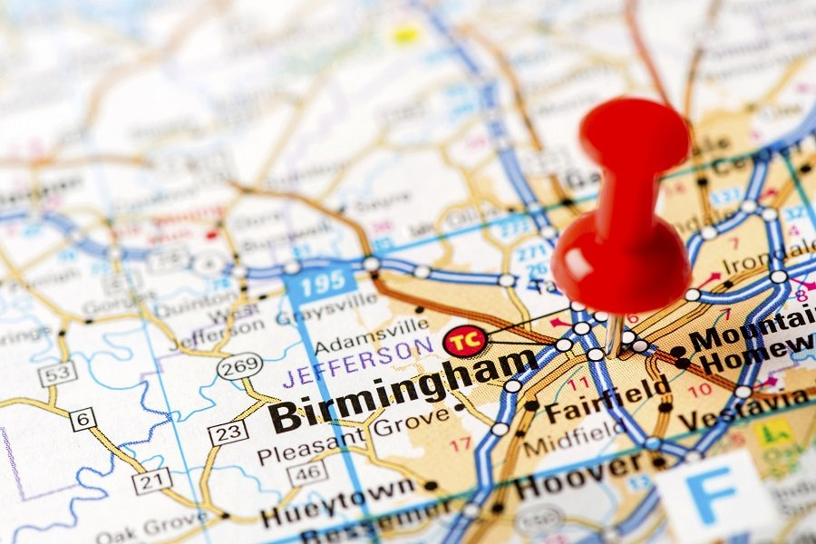 Birmingham, Alabama is the cheapest place to retire in the U.S. (Photo: Getty)