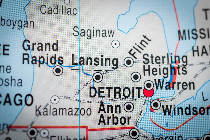 Detroit, Michigan, is in the top 10 cheapest cities to retire in. (Photo: Shutterstock)