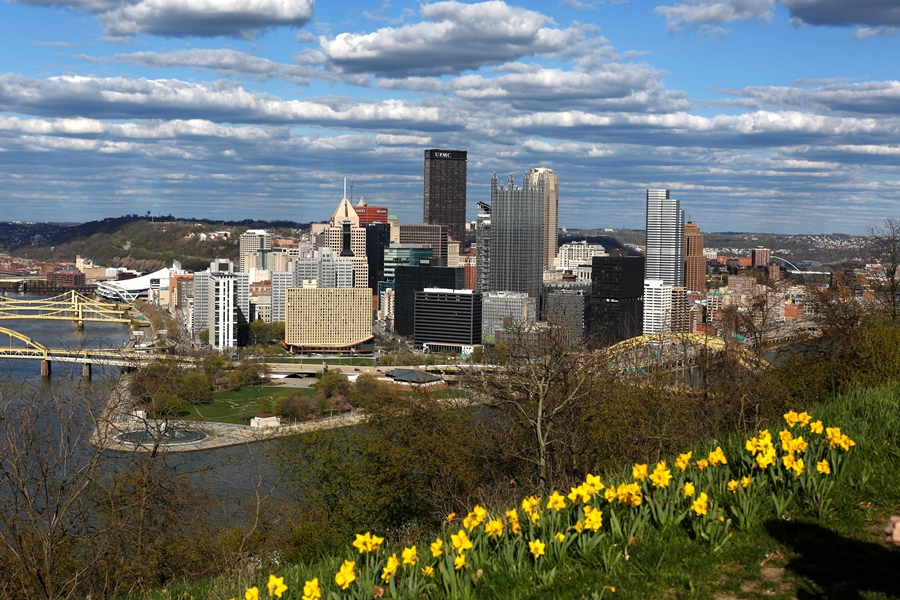 Pittsburgh also made the 10 best places to retire list. Maybe the list makers are Steelers fans. (Photo: AP)