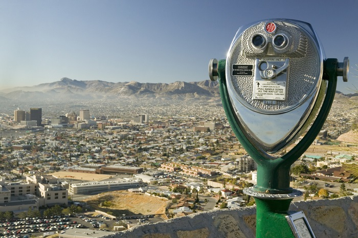 El Paso, Texas, looking south to the Mexico border, is not most people's first choice for retirement but it made this list. (Photo: Shutterstock)