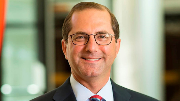 Before his time at Lilly, Azar served as deputy secretary at HHS under President George W. Bush.