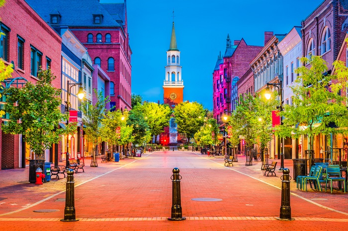 Burlington, VT (Photo: Shutterstock)