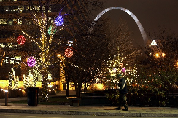 The Arch in St. Louis, Missouri (Photo: AP)