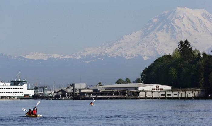 Puget Sound, Washington State (Photo: AP)