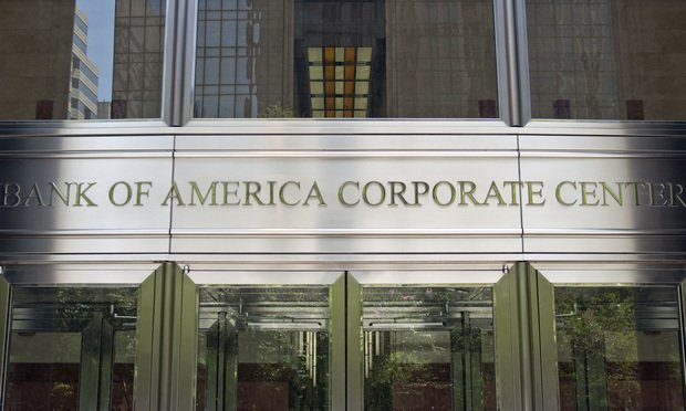 Bank of America World Headquarters in Charlotte, NC.