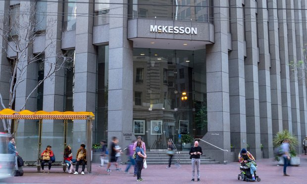 McKesson headquarters in San Francisco.
