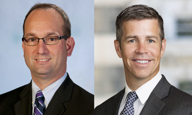 Robert Gerberry, senior vice president & general counsel of Summa Health (left) and Tim Adelman, general counsel of Luminis Health Inc. (Courtesy photos)