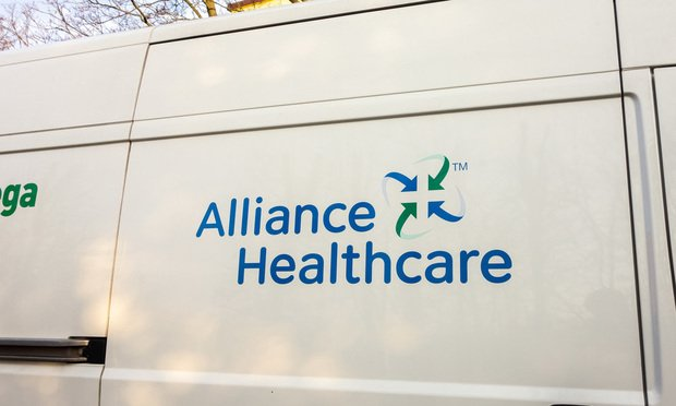 Alliance HealthCare Services logo.