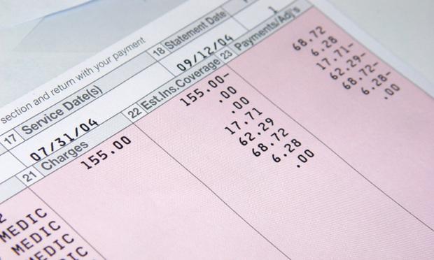 Medical bills. Photo: sx70/iStockphoto.com