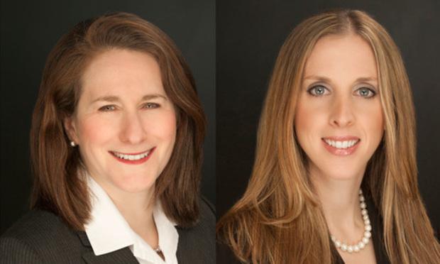 Rebecca Rosenberger Smolen, left, and Amy Neifeld Shkedy, right, of Bala Law Group.