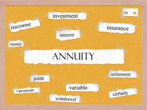 Word cloud using Annuity.