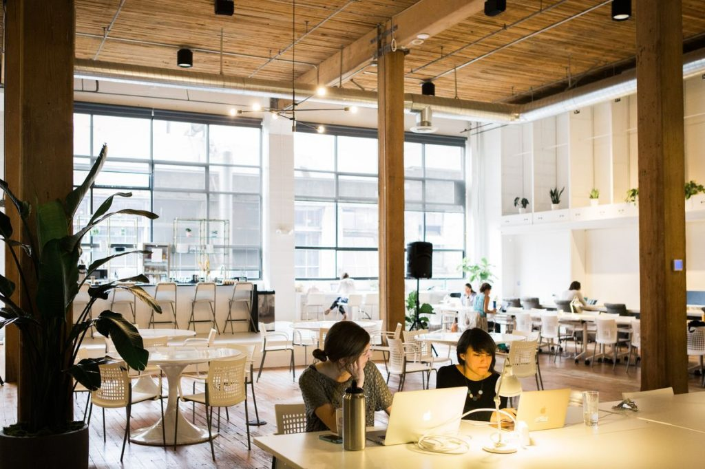 The Riveter co-working space