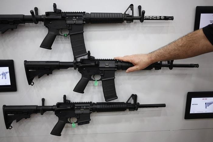 Semi-automatic guns