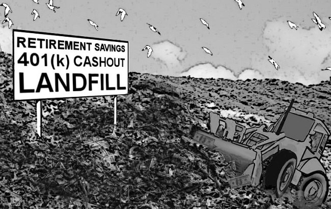 landfill with 401ks