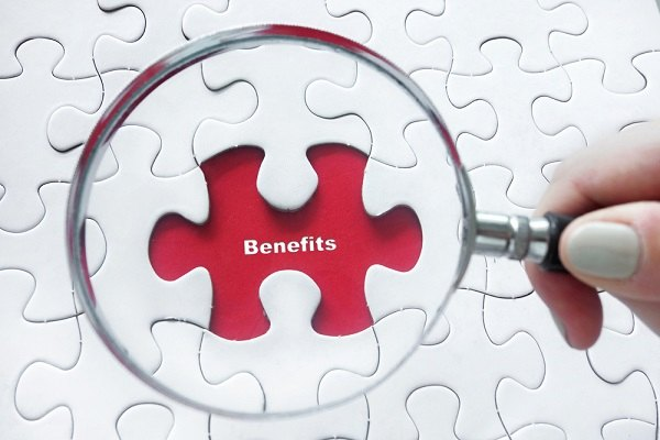 Benefits puzzle piece