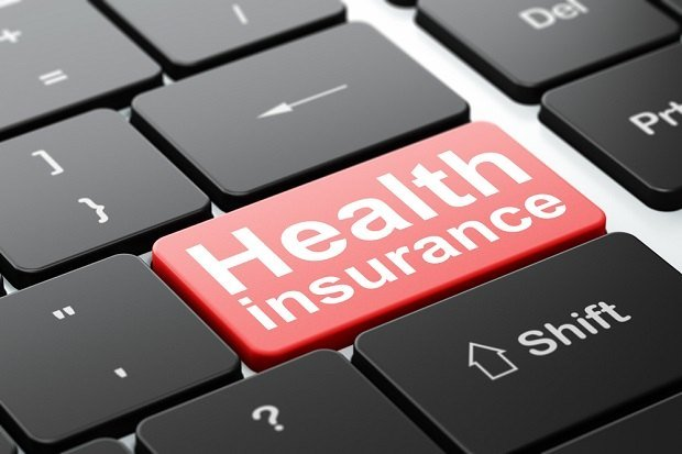 Health insurance enter key on keyboard
