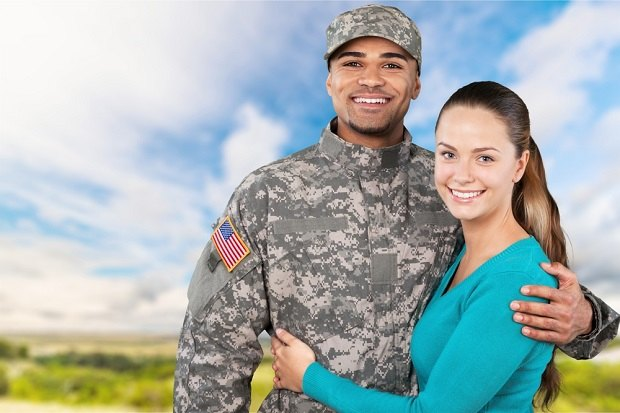veteran and spouse
