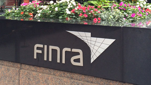 FINRA sign