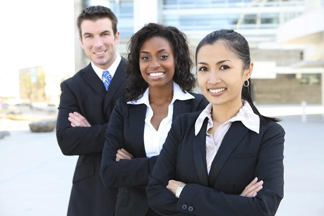 3 insurance/finance professionals