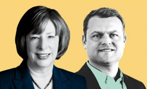 Bonnie Brazzell and Nick Rockwell, Eastbridge Consulting Group,