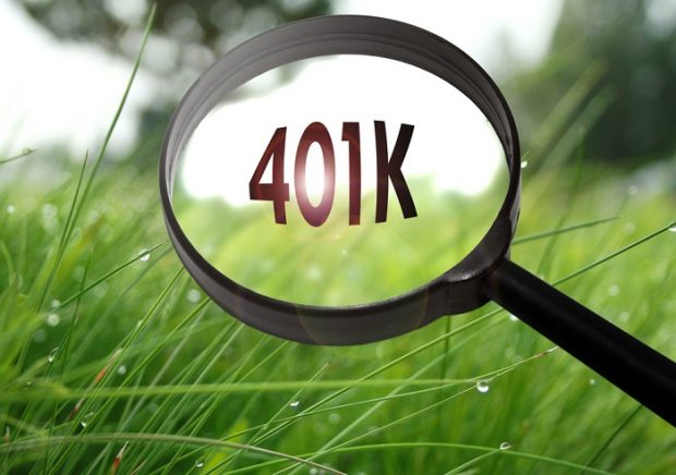 401k under magnifying glass