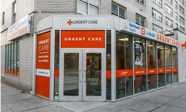 Urgent care entrance