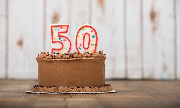 50 year celebration cake