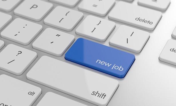 Job search on keyboard