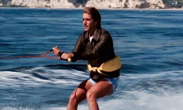 Fonzie jumping the shark