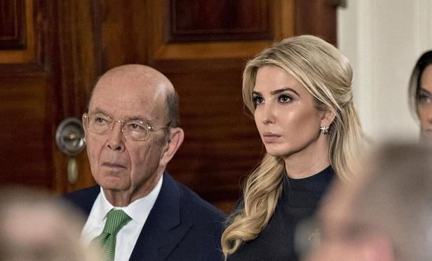 Ivanka Trump and Wilbur Ross