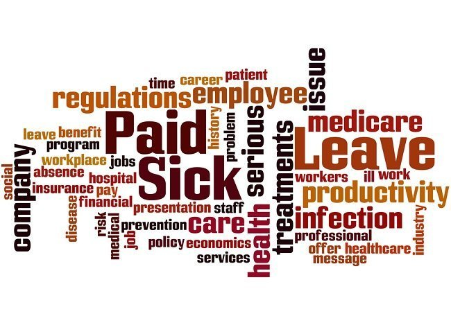 Paid leave collage