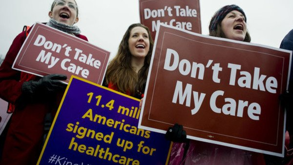 Health care reform protesters