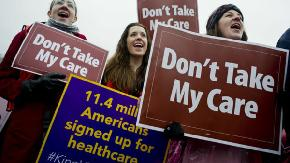 Unusual alliances form to oppose ruling that found the ACA unconstitutional