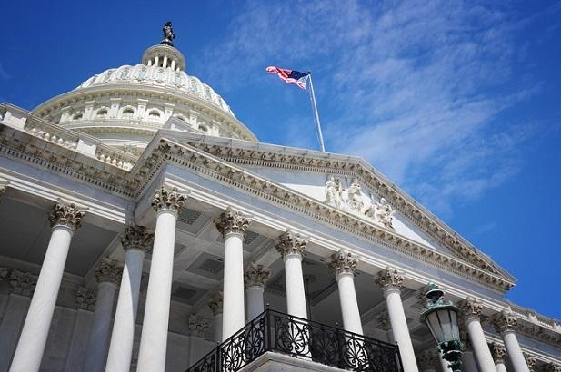 U.S. Capitol building closeup