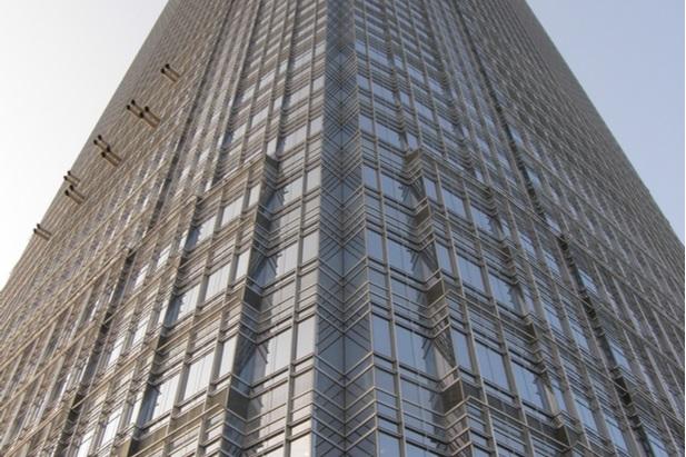 part of Goldman Sachs building