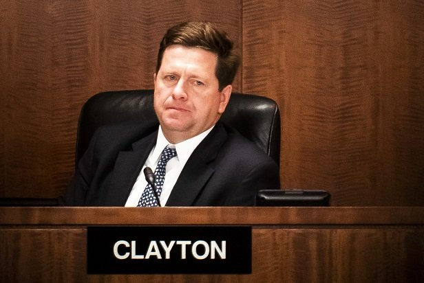 SEC chair Clayton