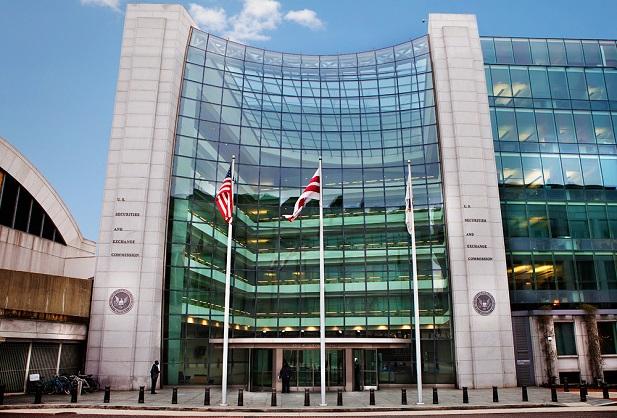 Front facade of SEC building