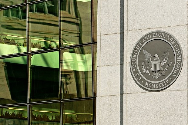 facade of SEC building