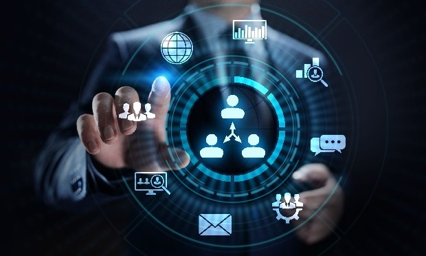 Benefits administration digital concept